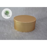Papírdoboz arany D16cm