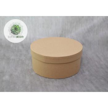 Papírdoboz natúr D20cm