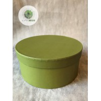 Papírdoboz zöld D20cm
