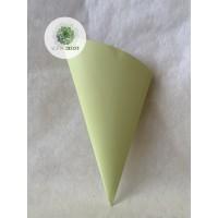 Papír virágtartó 30cm zöld