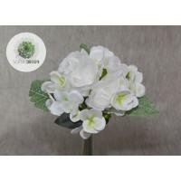 Rózsa-hortenzia kötegelt csokor x7  fehér