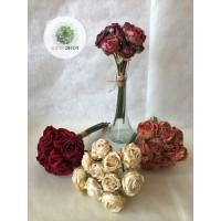 Rózsa kötegelt csokor x10