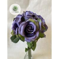 Rózsa kötegelt csokor x6 (TÖBB SZÍNBEN!)