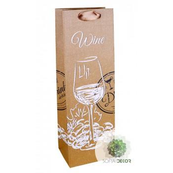 Ajándéktasak boros 12*36cm