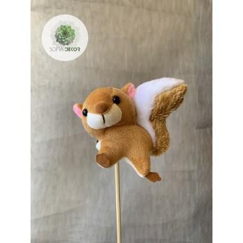 Pálcás figura mókus