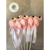 Pálcás figura flamingó (CSOMAG ÁR!)