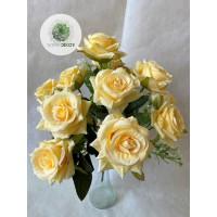 Rózsa csokor x12  38cm (TÖBB SZÍNBEN!)