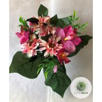 Gerbera-orchidea csokor x7 (TÖBB SZÍNBEN!)
