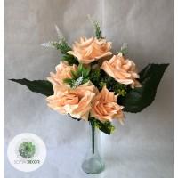 Rózsa csokor x13 40cm(TÖBB SZÍNBEN!)