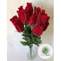 Rózsa csokor x12 42cm