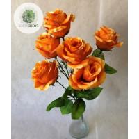 Rózsa csokor x7   40cm (TÖBB SZÍNBEN!)