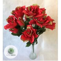 Rózsa csokor x14  48cm (TÖBB SZÍNBEN!)