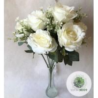Rózsa csokor x13 50cm (TÖBB SZÍNBEN!)