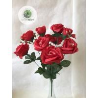 Rózsa csokor x10 (TÖBB SZÍNBEN!)