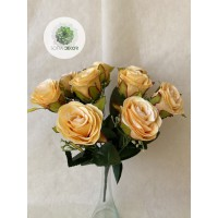 Rózsa csokor x9 (TÖBB SZÍNBEN!)