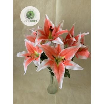 Liliom csokor x7 pink, narancs
