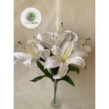 Liliom csokor x7 60cm