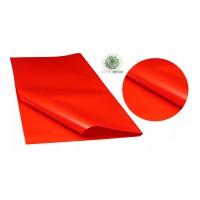 Csomagoló 58*58cm gyöngyház piros (CSOMAG ÁR!)