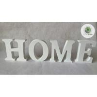 ",,HOME"" betűk fehér"