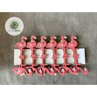 Flamingó csipeszes