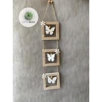 Pillangós ajtódísz