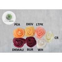 Polifoam rózsa fej 6-7cm (CSOMAG ÁR!)
