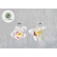 Orchidea fej szatén (db ár) CSAK CSOMAGRA RENDELHETŐ!