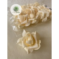 Polifoam rózsa fej 7cm (CSOMAG ÁR!)