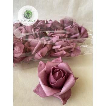 Polifoam rózsa fej 10cm (CSOMAG ÁR!)