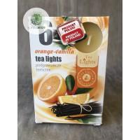 Illatmécses narancs-vanilia 6db-os
