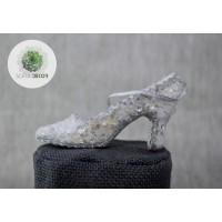 Flitteres cipő 12cm