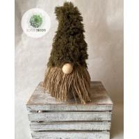 Manó zöld sapis 35cm