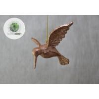 Kolibri bronz, fehér
