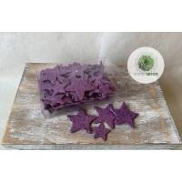 Glitteres csillag lila (CSOMAG ÁR!)