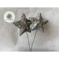 Glitteres csillag S/2 (TÖBB SZÍNBEN!)