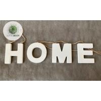 Fa HOME betűk