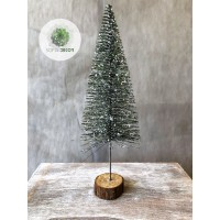 Fenyőfa glitteres 27cm