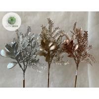 Metál virágos pick