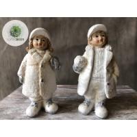 Téli gyerekek fiú/lány