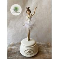 Zenélő balerina 22cm