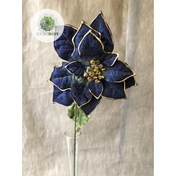 Mikulásvirág kék 75cm
