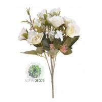 Rózsa csokor x5 30cm  (TÖBB SZÍNBEN!)
