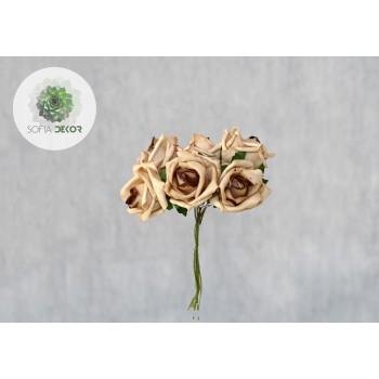 Polifoam rózsa csokor
