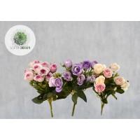 Rózsa csokor x5 30cm