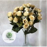 Rózsa csokor x5 28cm (TÖBB SZÍNBEN!)
