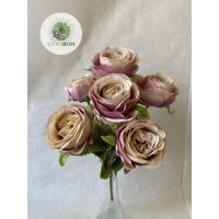 Rózsa csokor x6 (TÖBB SZÍNBEN!)