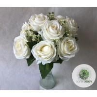 Rózsa csokor x9 32cm (TÖBB SZÍNBEN!)