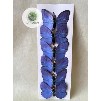 Pillangó csipeszes kék S/6