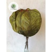 Őszi levélköteg 28cm zöld