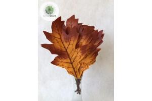 Őszi levélköteg 24cm narancsos